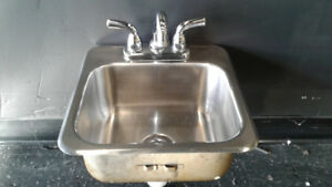 Bar Sink and Faucet