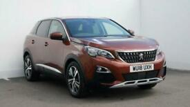 image for 2018 Peugeot 3008 1.2 PureTech Allure 5dr Estate petrol Manual