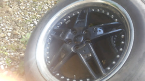 "Foose 20"" rims and tires"
