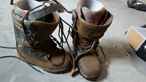 Brown Timba Thirtytwo lace up Men's Snowboard boots