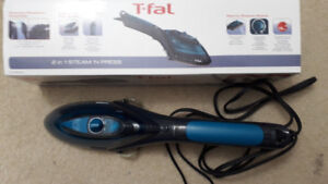 T-fal 2 in 1 steam n press is available