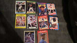 Kirby Puckett MLB cards(16)