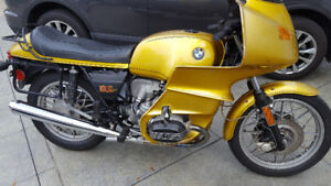 1978 BMW R100RS Gold - Low Miles - 6k$