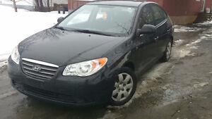 2009 Hyundai Elantra, Inspected, Remote starter, 75000 km only