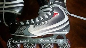 Size 10 Nike Bauer Vapour Rollerblades Peterborough Peterborough Area image 1
