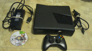 Microsoft 250GB XBOX 360 S  Slim (Model 1439) Console Bundle