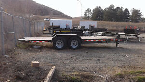7' x 18' Tilt Deck Trailer. 14000 lbs GVW Blow Out price!