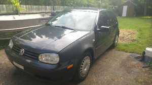 2002 Volkswagen Golf 2.0L Manual Hatchback