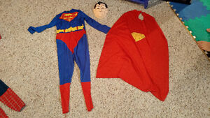 Super man costume sizr 8-10