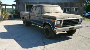 Parting Out 1979 Ford F150 SupercabTruck