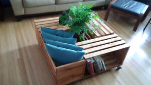 Solid Birch Coffee Table