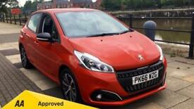 2016 Peugeot 208 5 door 1.2 PureTech Active Design Men Manual Petrol Hatchback