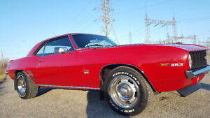 1969 CHEVY CAMARO SS CLASSIC MUSCLE CAR - NO REPAIRS NEEDED