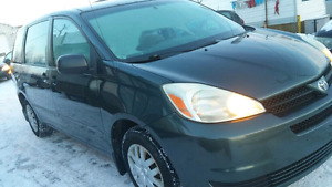 2005 Toyota Sienna CE with Safety check, E-test and Warranty
