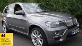 BMW X5 X DRIVE 35D M SPORT FULL SERVICE HISTORY 2008 Auto 125000 Diesel Grey