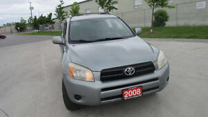 2008 Toyota RAV4. 4WD, Automatic, 3 years warranty available