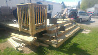 Siding, concrete ,walkways ,decks ,repairs ,fencing, you name it
