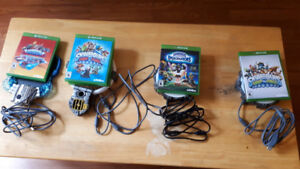 Skylanders and Diney Infinity games and figures