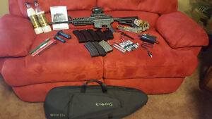 ARES air soft AR-20 plus lots of extras
