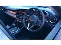 2018 Alfa Romeo Giulia 2.0 TB with Delivery Mileage a Automatic Petrol Saloon