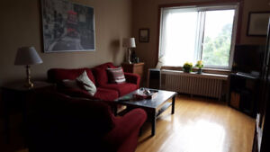 Nov 1st SUBLET large 5.5 in NDG - furnished + everything incl!