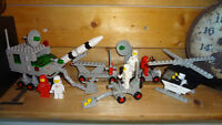 6 Vintage 1970's-80 Lego Sets! Hard to Find! Most are Complete!