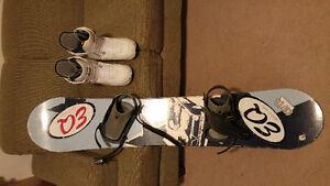 Nollie snowboard and womens boots Gatineau Ottawa / Gatineau Area image 1
