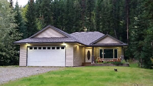 Custom built rancher on .80 acre lot in North Nechako