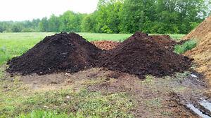 compost de fumier de cheval QUALITÉ SUPÉRIEURE