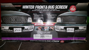 Winter Front & Bug Screen