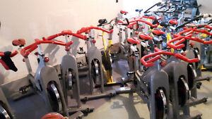 Spin bikes (gym quality)
