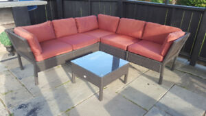 Patio Furniture - Sectional $480