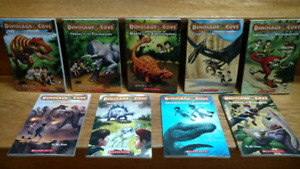 9 Dinosaur Cove chapter books by Rex Stone