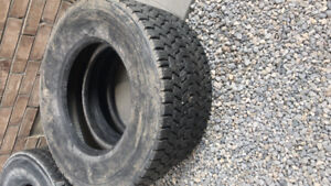 Truck winter tires 295 75 22.5 mitchelin re tread 40% 8 tires