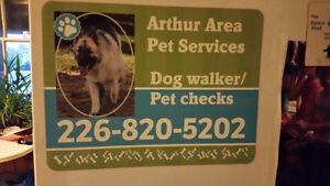 Dog walker/Pet checks