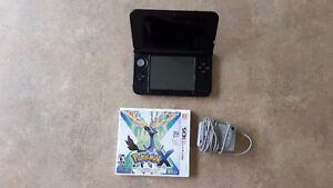 Nintendo 3DS XL with Pokemon X game