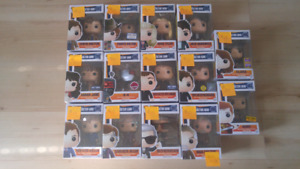 Assorted Dr Who and Battlestar Galactica Funkos