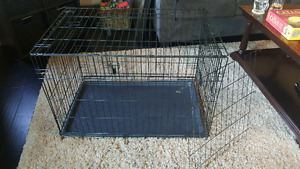 Large dog crate 36x22x24