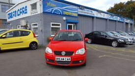 Volkswagen Polo 1.2 MATCH 60PS (red) 2009