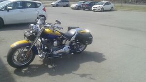 Harley Davidson FLSTF full chrome
