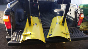 John Deere snow blade attachments