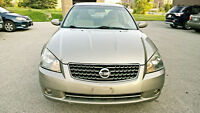 2006 Nissan Altima 2.5s limited eddition Sedan 147000km
