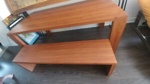 Gus stylegarage plank table plus bench