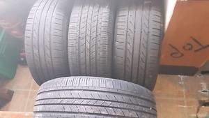 4 tires 225/55R16 All Seasons