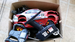 RC cars and parts