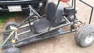 6hp honda go cart will get a new pic different now