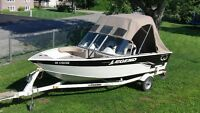 Great condition legend boat.