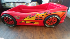 Toddler size Lightening McQueen bed