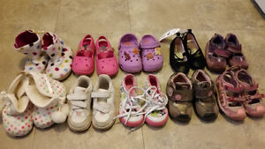 Lot of Size 7 Shoes/Slippers