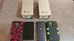 2 LGG3 cell phones.